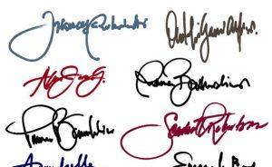 Graphology & Signatures