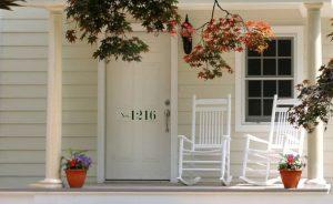 Lucky Door / House Number